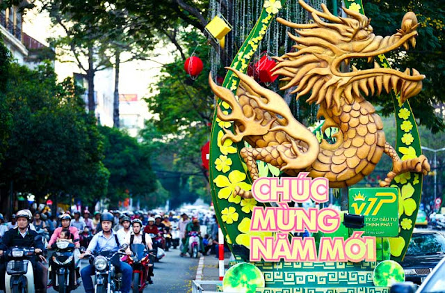 Drago Capodanno in Vietnam