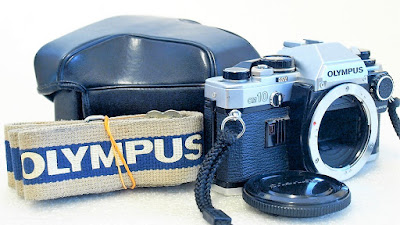 Olympus OM10 (Chrome) Body #478, Manual Adapter