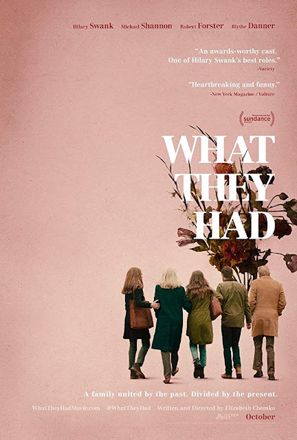 What They Had 2018 movie poster Hilary Swank Michael Shannon
