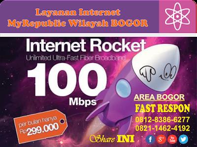 Jaringan Internet My Republic Wilayah Bogor