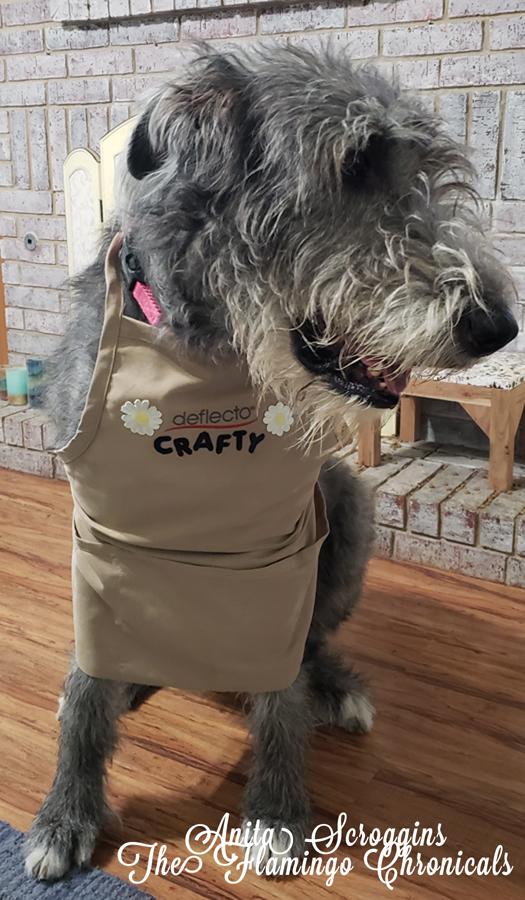 Irish wolfhound apron