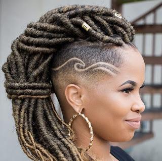 dreadlcoks hairtyles