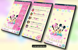 Mickey & Minnie Theme For YOWhatsApp & Fouad WhatsApp By Nanda