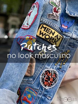 MODA | Patches no Look Masculino.