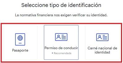 Comprobar Identidad KYC Coinbase Español