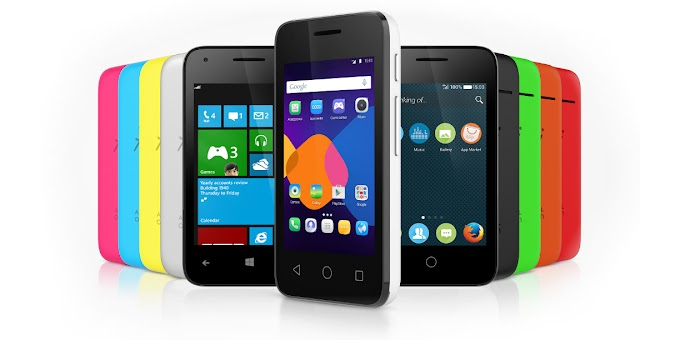 Alcatel OneTouch PIXI 3 announced, with Android, Windows Phone and Firefox compatibility