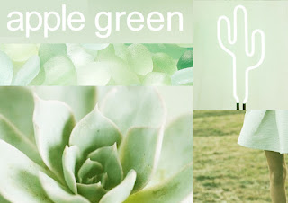 Color Apple Green (Verde Manzana)