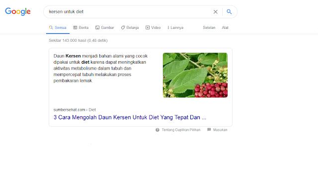 cara agar postingan blog tampil di halaman pertama google