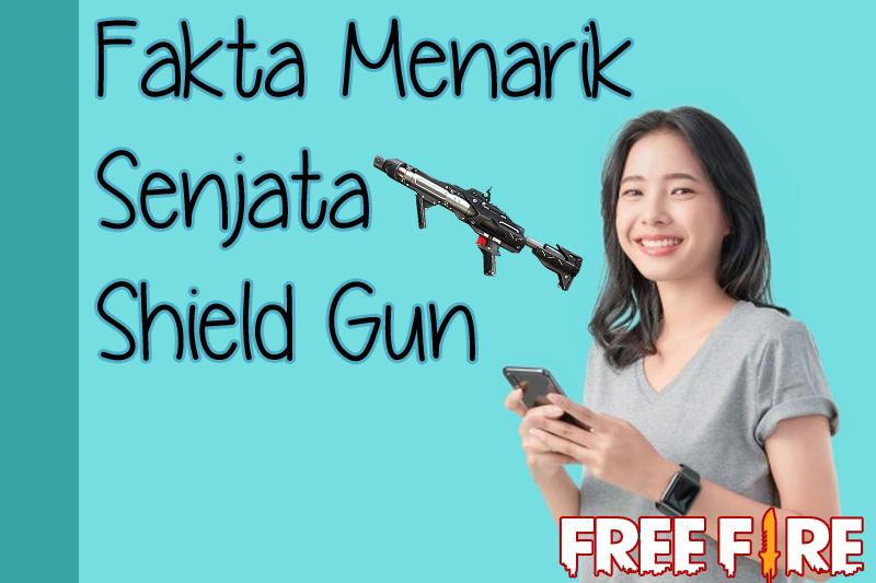 Sederet Fakta Menarik Sejata Shield Gun FF