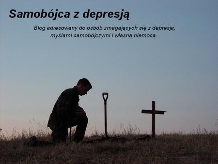 blogi i depresji i samobójstwie