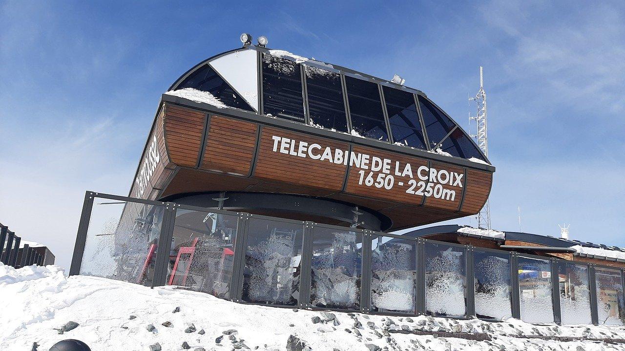 Téléphérique de La Croix à Chamrousse (38)