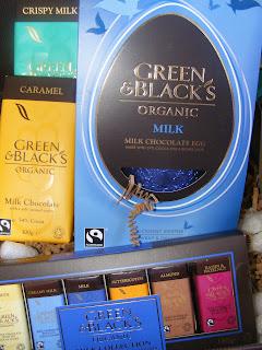 Green and Blacks, chocolate, easter egg