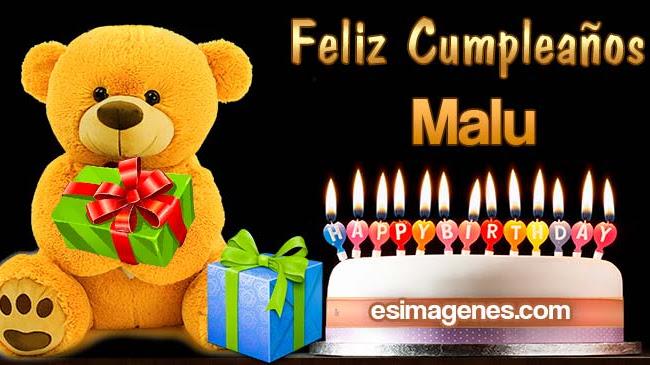 Feliz Cumpleaños Malu