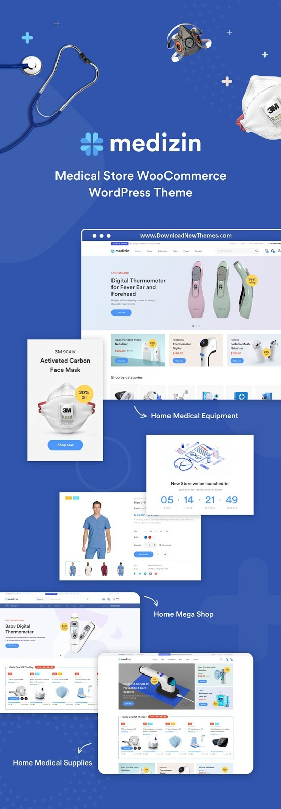 Medical Elementor WooCommerce Theme