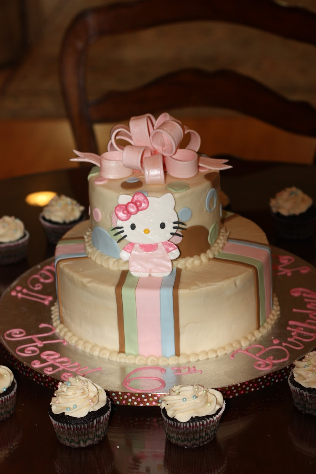 Sweet Celebrations Hello Kitty Amp Happy 6th Birthday