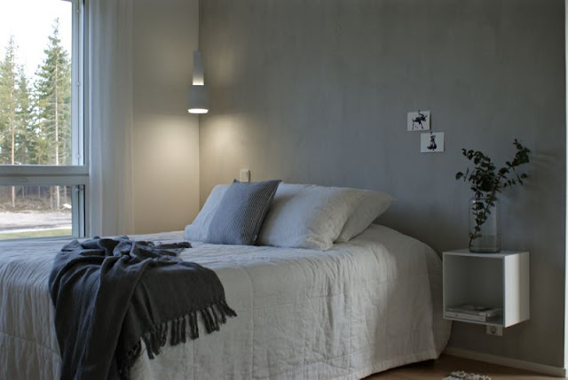 zicos.fi, zicos, zicoshome, muuto stacked, valkoinen makuuhuone, valkoinen sisustus, skandinaavinen, eucalyptyksen oksa, harmaa