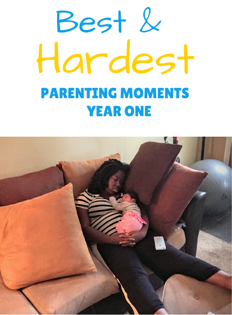 best and hardest parenting moments year one
