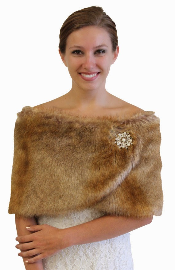 To Local Bridal S For This Winter Faux Fur Wrap Bolero Jacket Wedding Shawls As Well Chiffon Scarves
