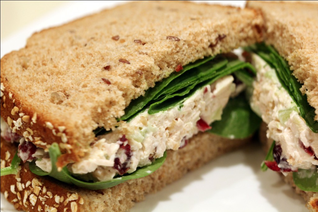 ButchInTheKitchen How to Make A Chicken Salad Sandwich