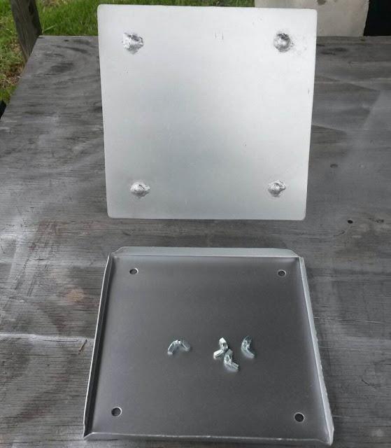 Exhaust Duct Access Service Door