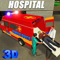 An ambulance driving game