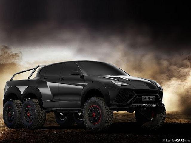 Lamborghini fabrique un VUS à 6 roues