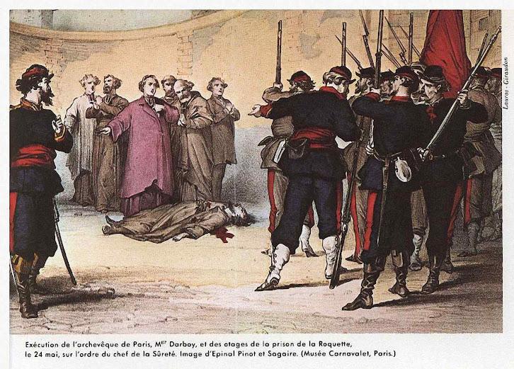 Fuzilamento pelos comunistas do arcebispo de Paris - Revue Des Deux Mondes