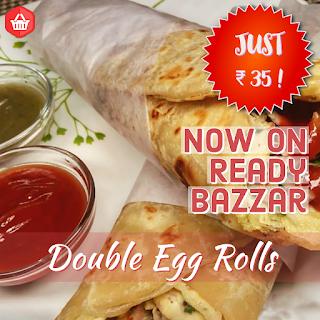 Egg Rolls (एग रोल) - Double