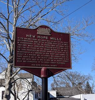 New Hope Mills Marker