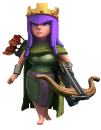 ARCER QUEEN , COC , CLASH OF CLANS