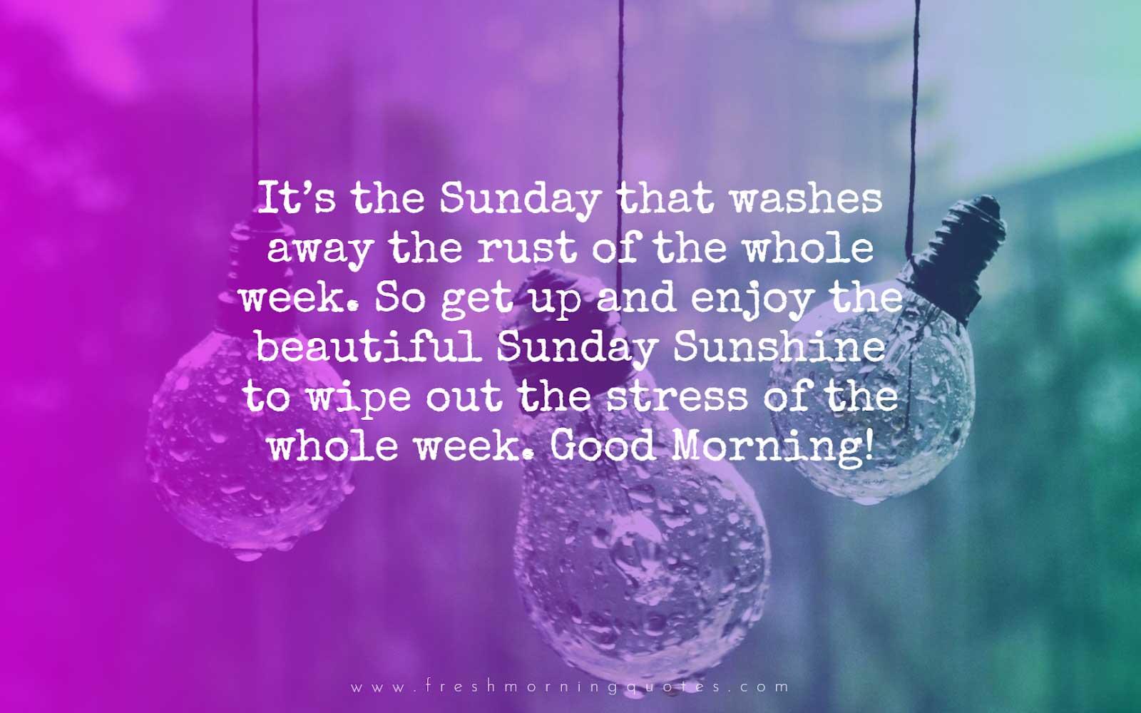 its Sunday - Sunday quotes