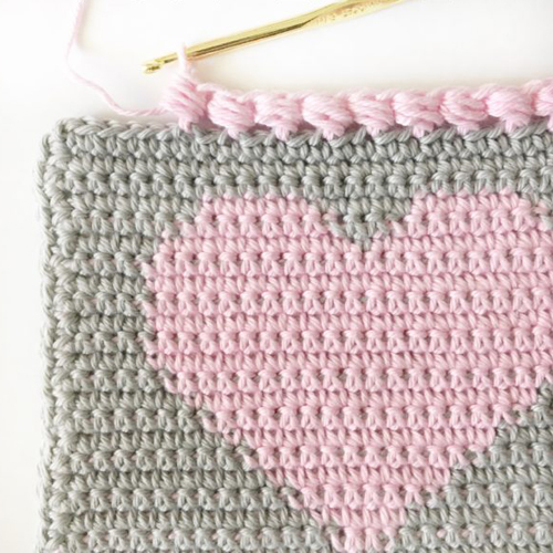 Crochet Puff Edge Stitch - Tutorial