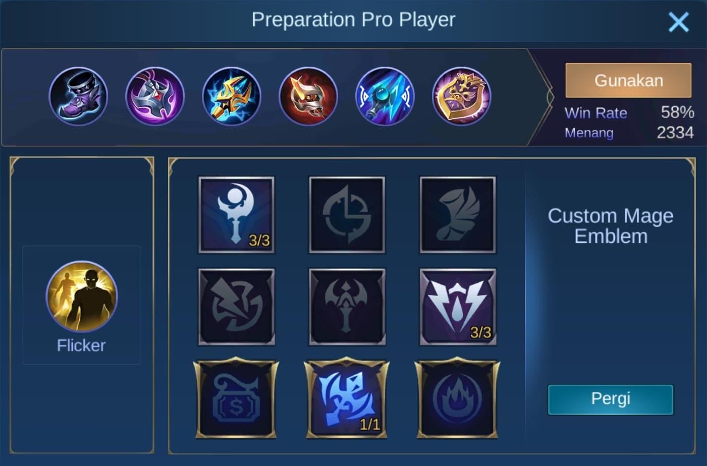 build item aurora mobile legends (ML)