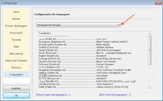 2-Honeyview - configurações - idioma