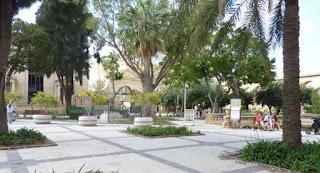 Upper Barrakka Gardens, La Valletta, Malta.