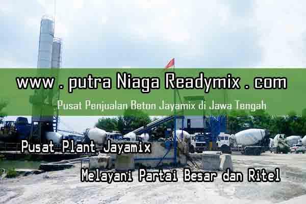 Harga Beton Jayamix Semarang