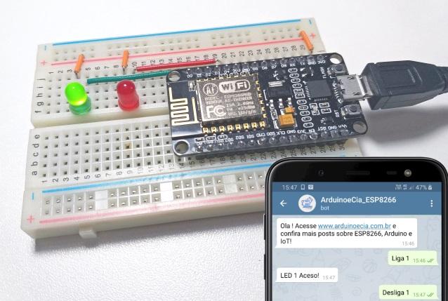 Bot Telegram com ESP8266
