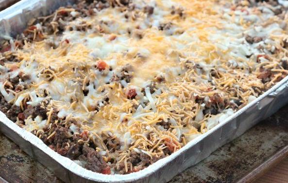 EASY TACO CASSEROLE RECIPE #easy #vegetarian #casserole #recipe #vegan
