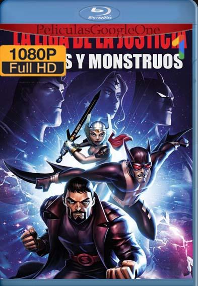 Liga de la Justicia: Dioses y Monstruos (2015) [1080p BRrip] [Latino-Inglés] [LaPipiotaHD]