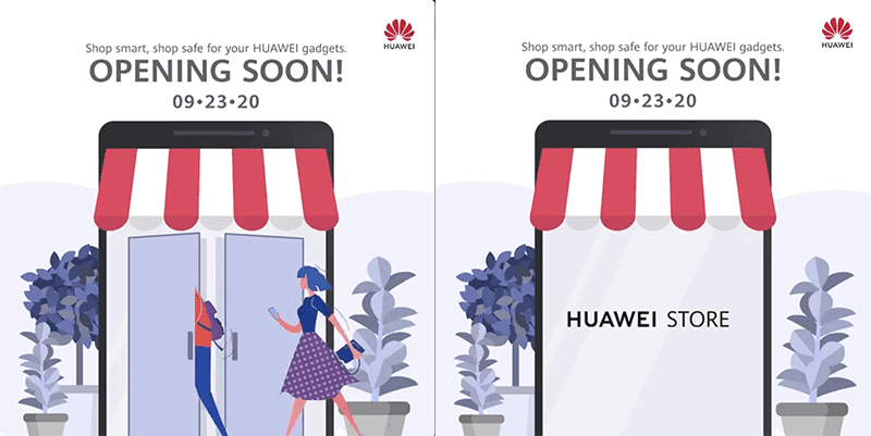 Huawei Store Online Philippines will open on September 23!