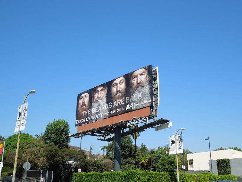 Duck Dynasty season 2 billboard