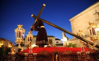 El Nazareno de Salteras estará acompañado el próximo Martes Santo por la formación musical sevillana Virgen de los Reyes
