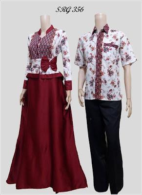 Model Serambit Baju Batik Keluarga Modern