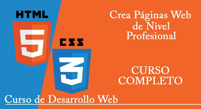 curso desarrollo web html5 css3
