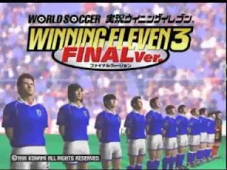 تحميل لعبة winning eleven 3