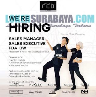 The Latest Surabaya Lockers at Neo Gubeng Hotel in May 2019