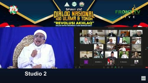 Habib Rizieq: Selama Tak Ada Pembantaian Umat, Tak Ada Angkat Senjata