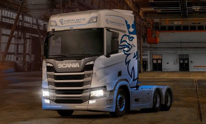 Nova Geração Scania ganha série especial Diamond Edition no Brasil