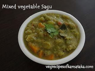Tharakari sagu recipe in Kannada