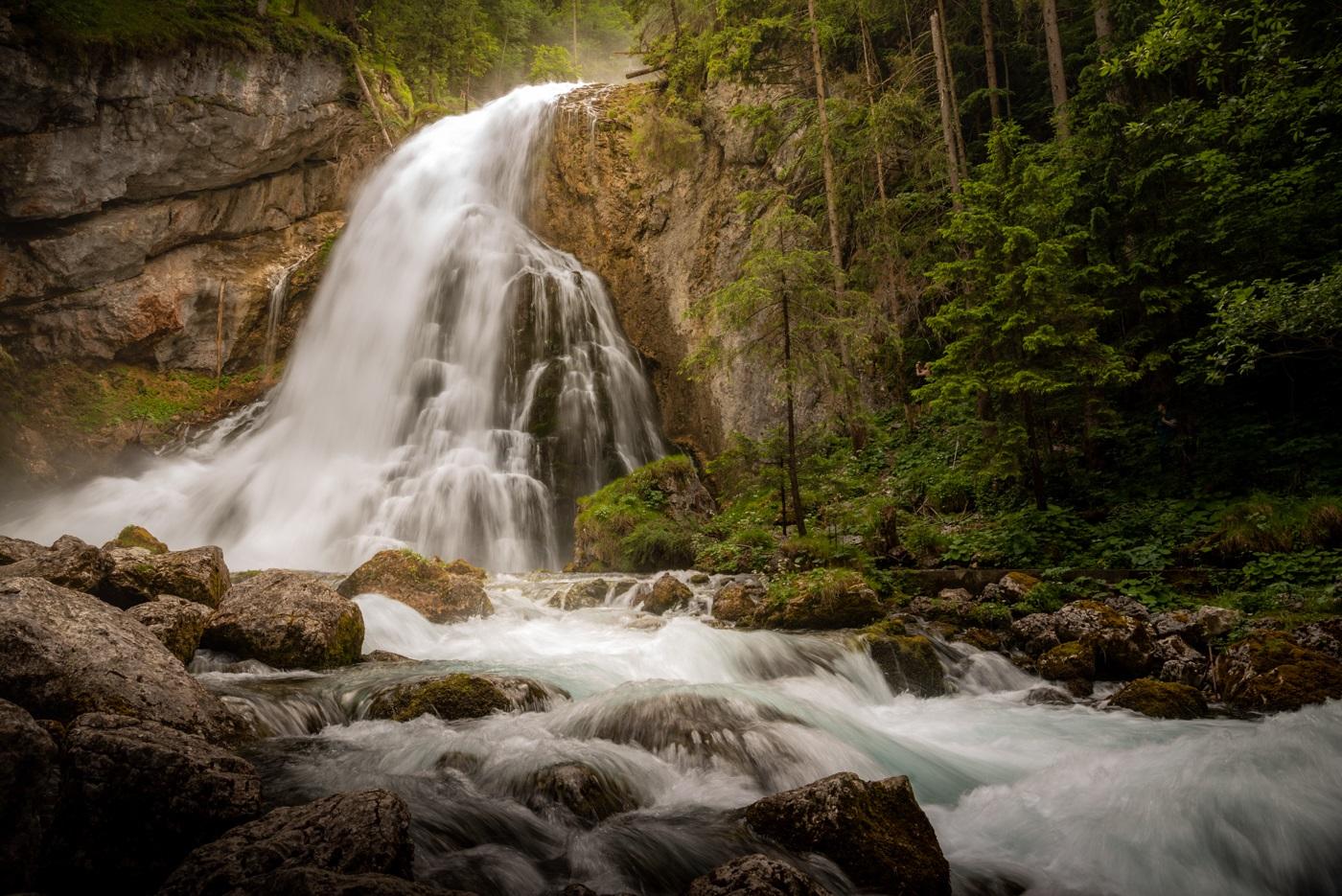 Wodospad Gollinger, Austria